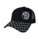 Diamond Plate Visor Mesh Back Cap