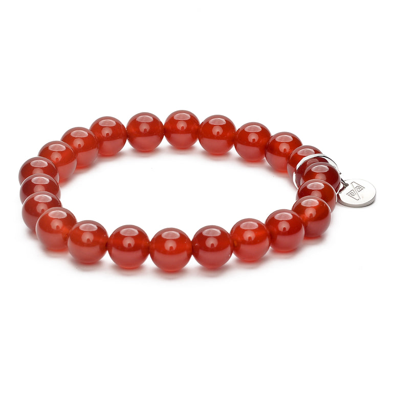 8MM Red Agate