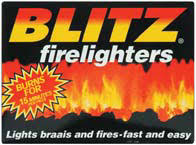 Blitz Firelighters - 12 Piece Box
