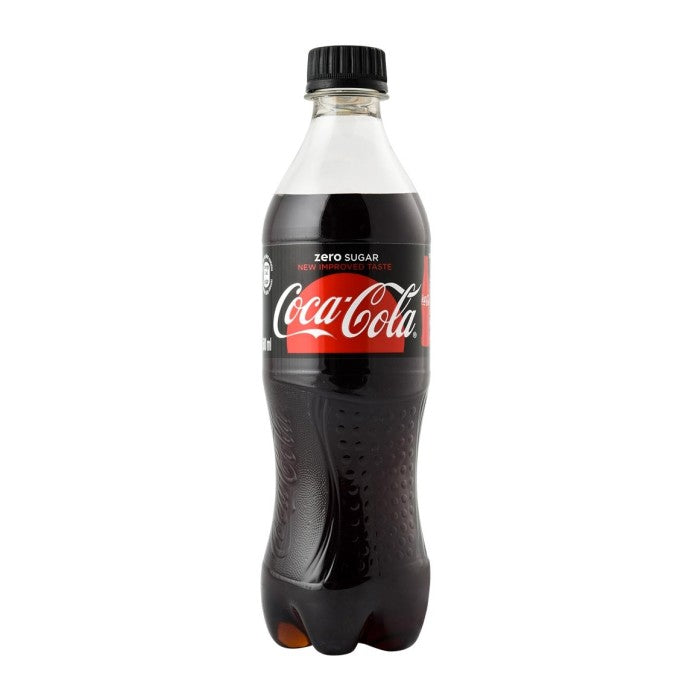 Coca Cola Zero 500ml - Plastic Bottle