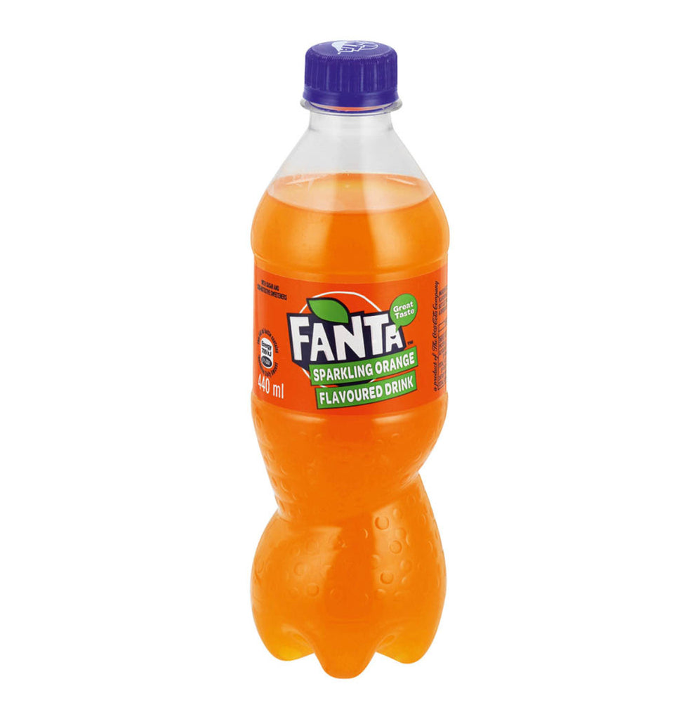 Fanta Orange 440ml - Plastic Bottle