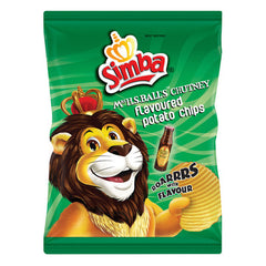 Simba Mrs Balls Chutney Chips 36gr Packet