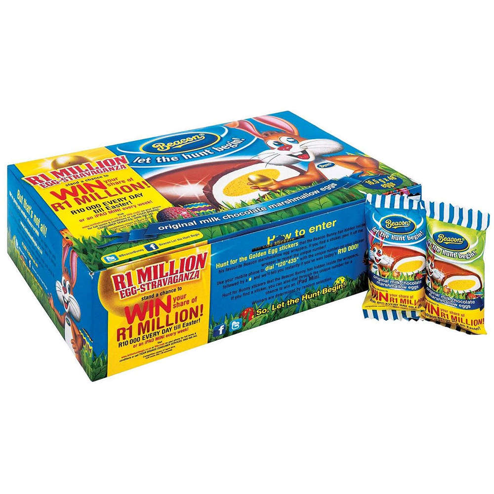 Beacon Marshmallow Eggs - Box of 48