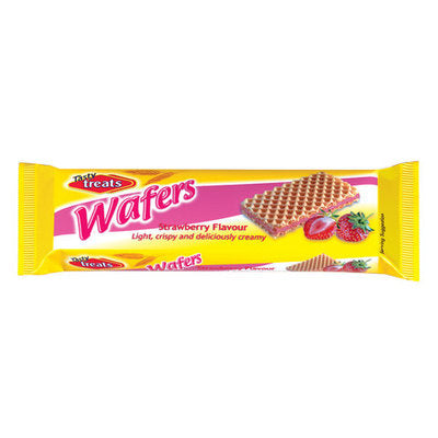 Tasty Treats Wafers 100gr - Strawberry