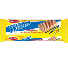 Tasty Treats Wafers 100gr - Vanilla