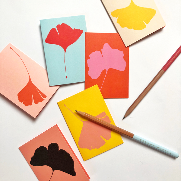 GINKGO MINI CARDS