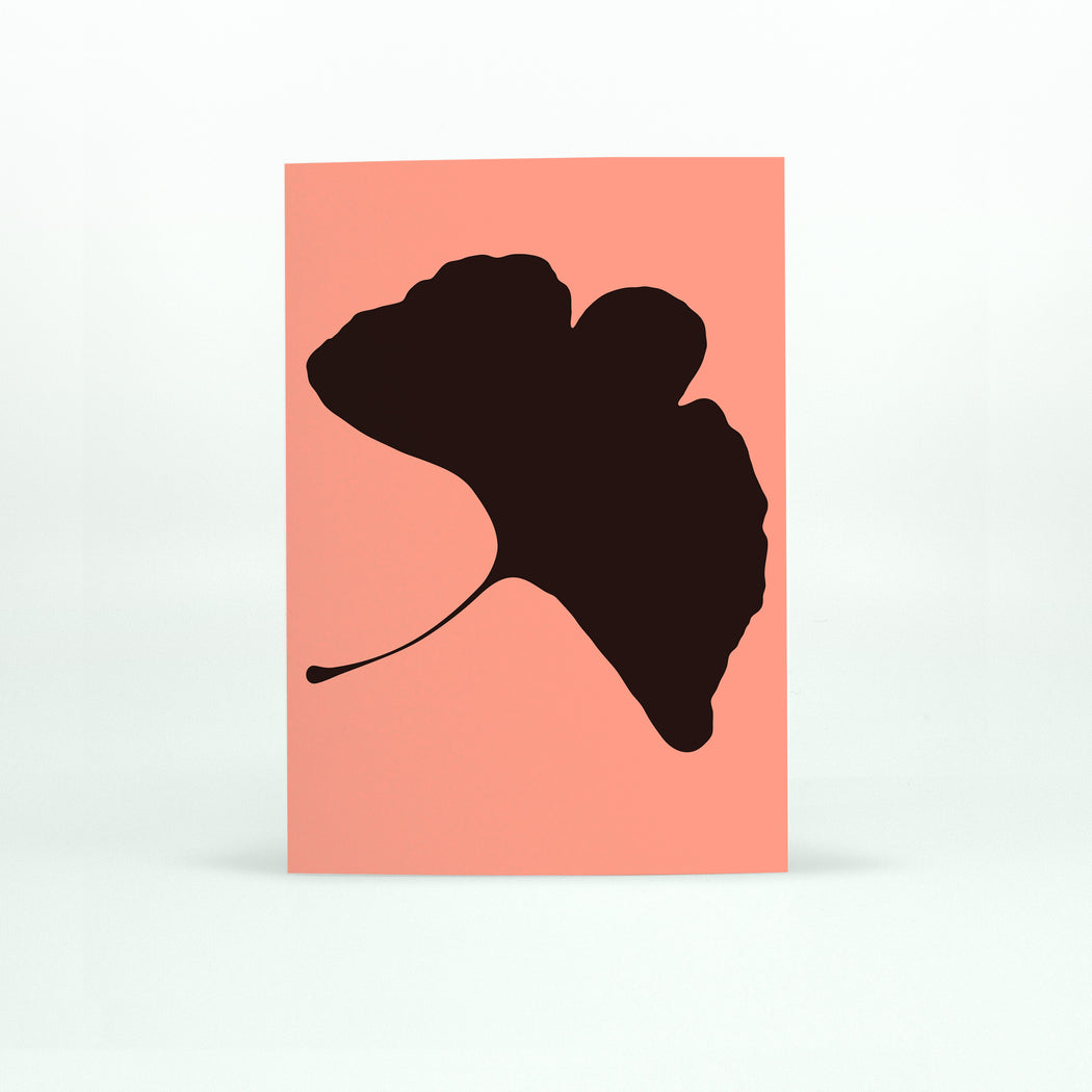 GINKGO POP Card - No.3