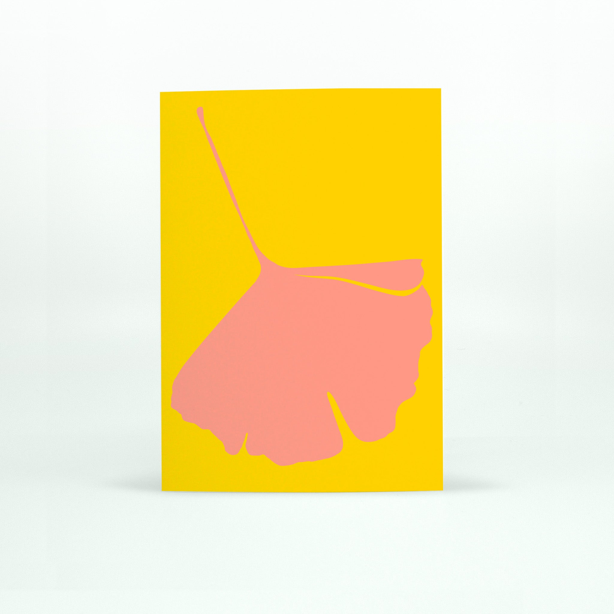 GINKGO POP Card - No.4