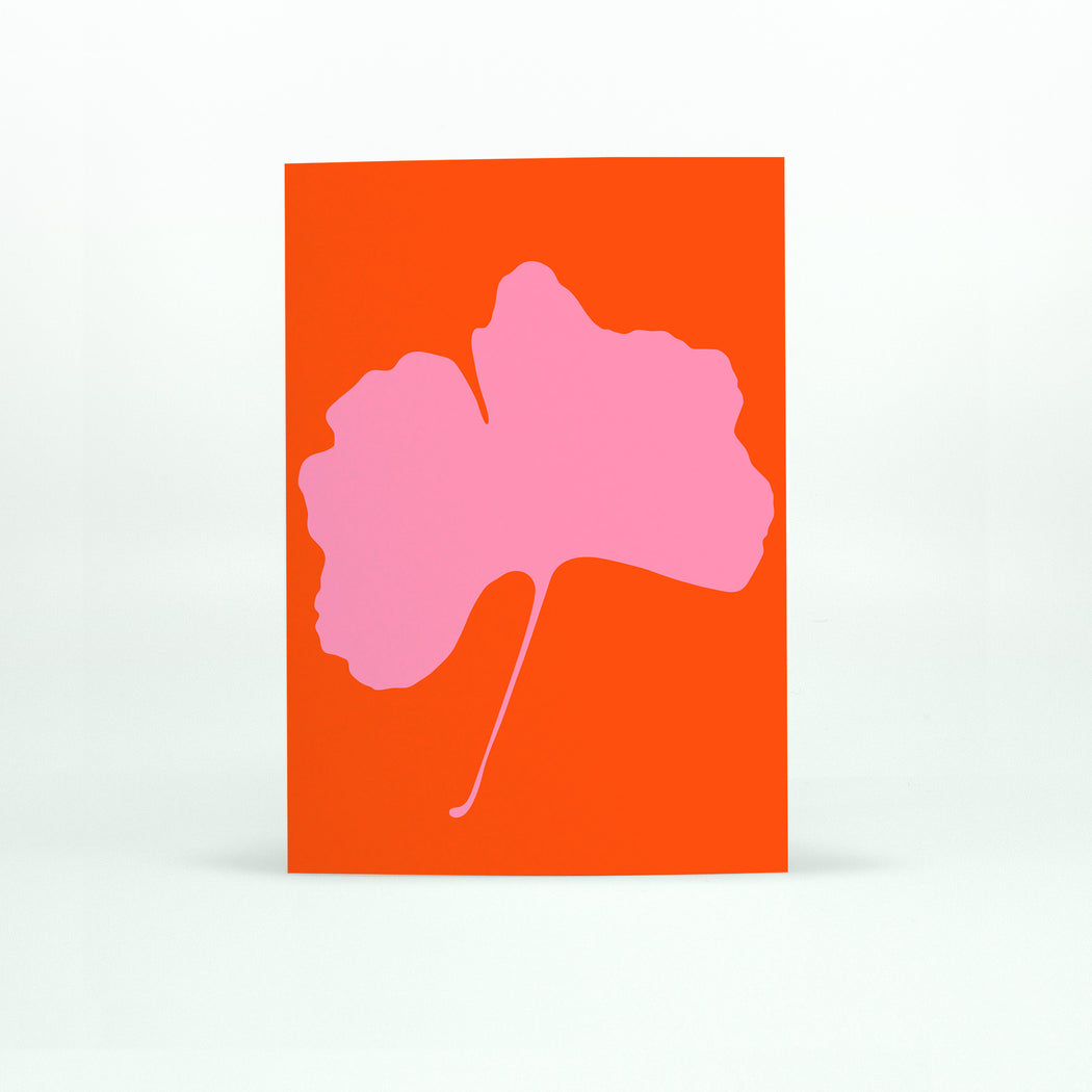 GINKGO POP Card - No.5