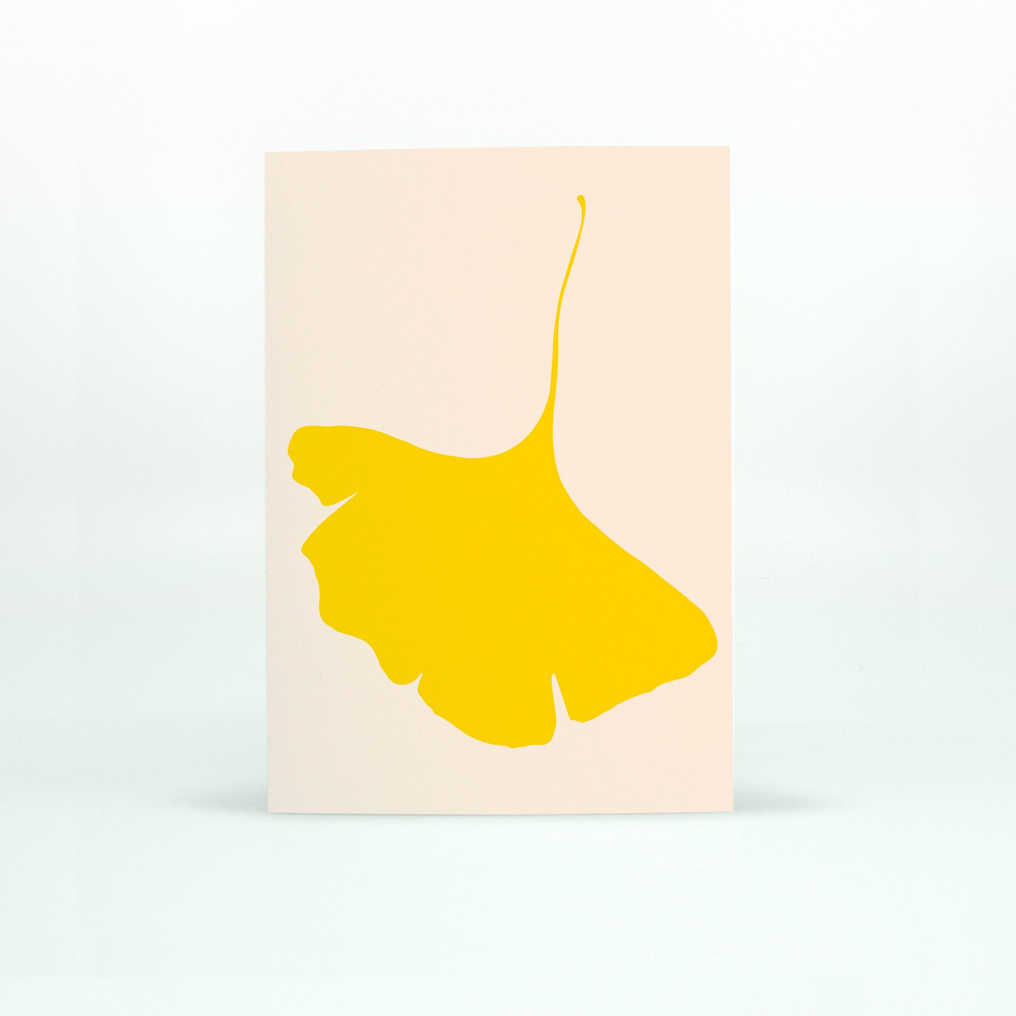 GINKGO POP Card - No.6