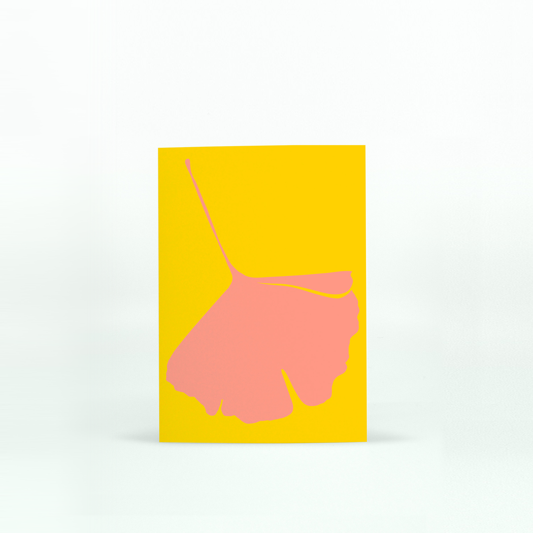 GINKGO POP Mini Card - No.4