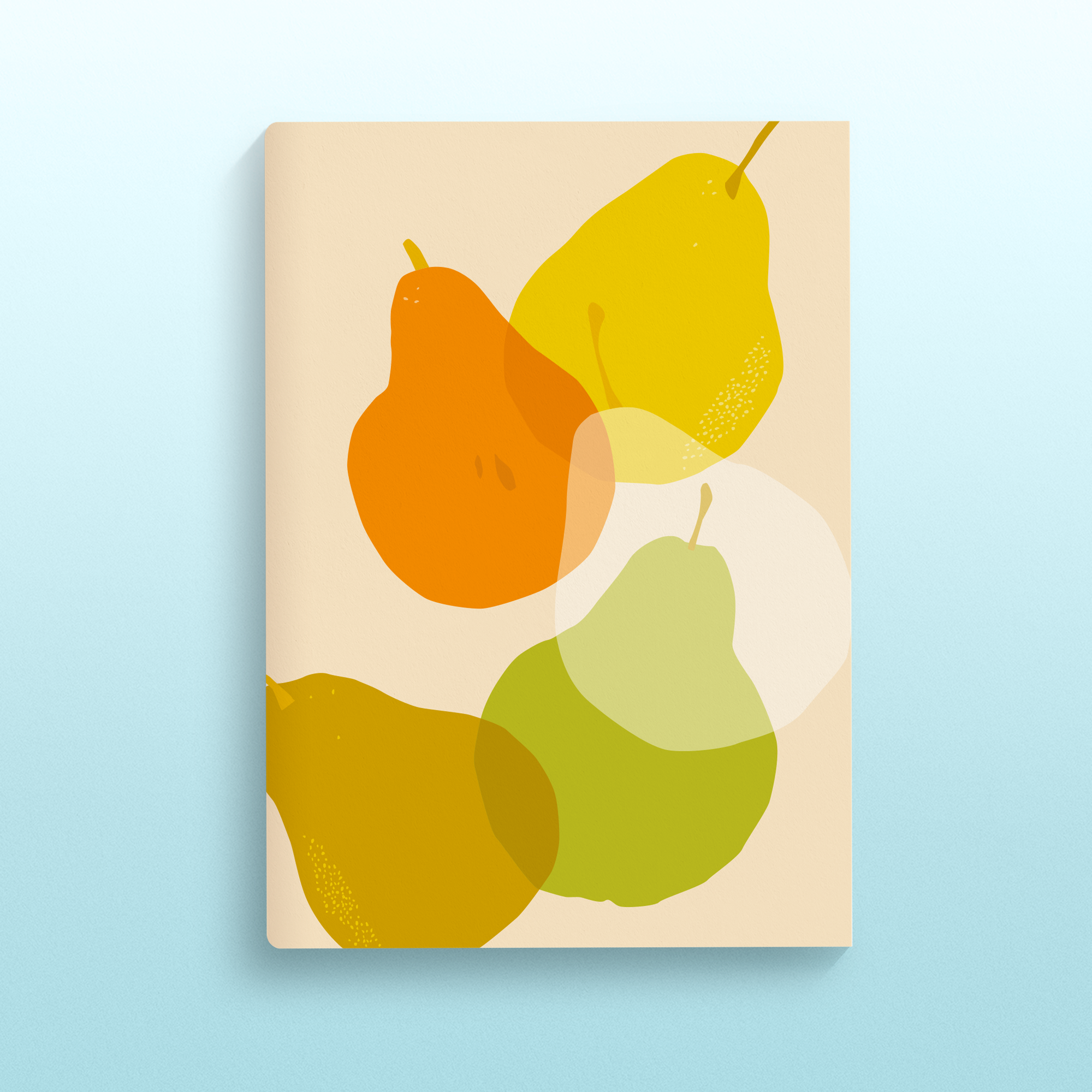 IN SEASON A5 Notebook - Poires de Martigny