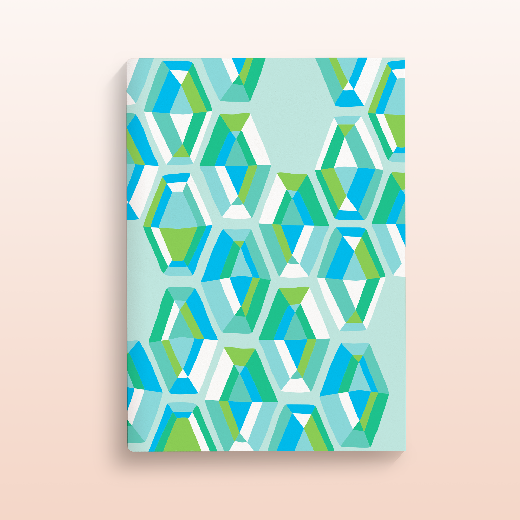 GLASSHOUSE A5 Notebook - No.1