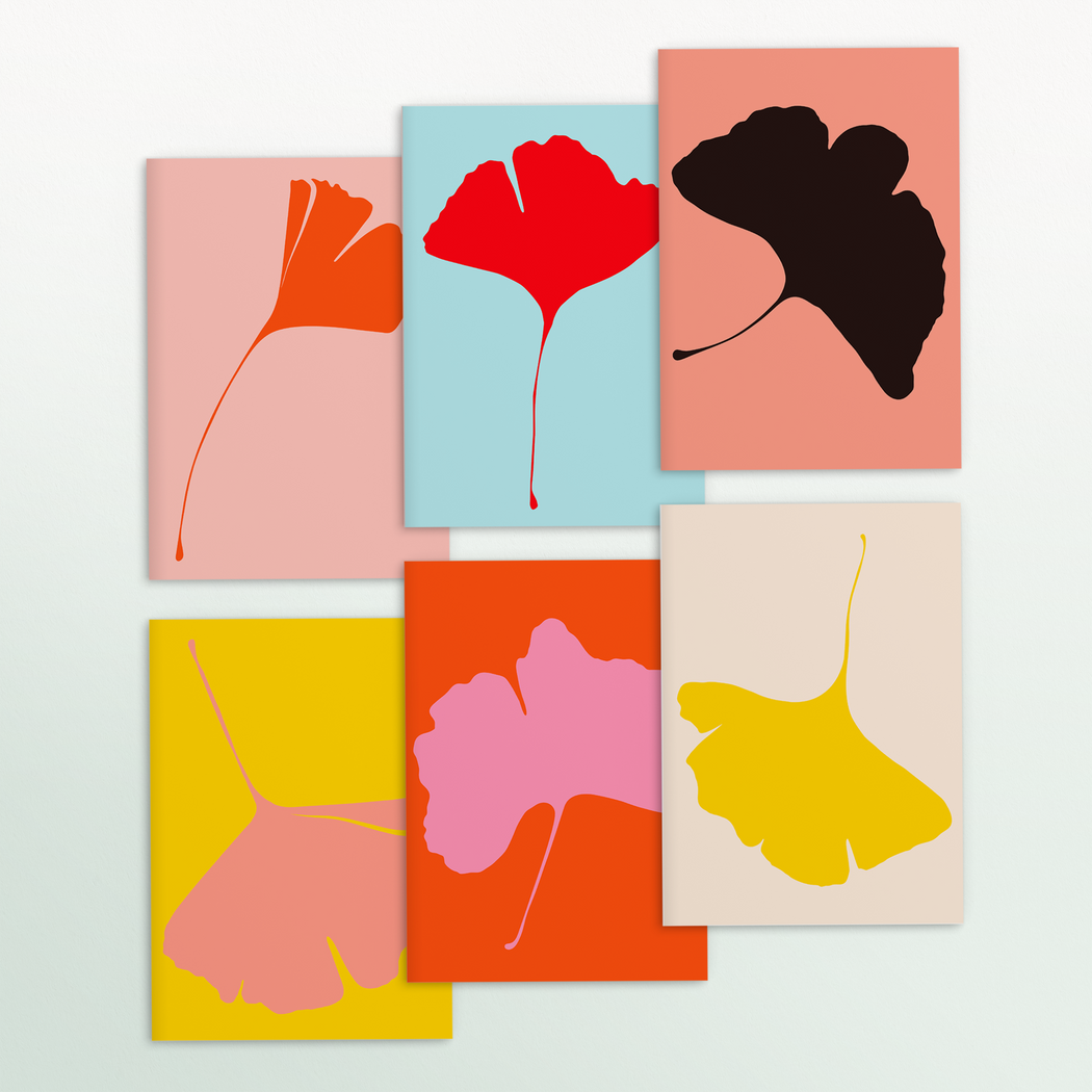 GINKGO POP Cards - Set of 6