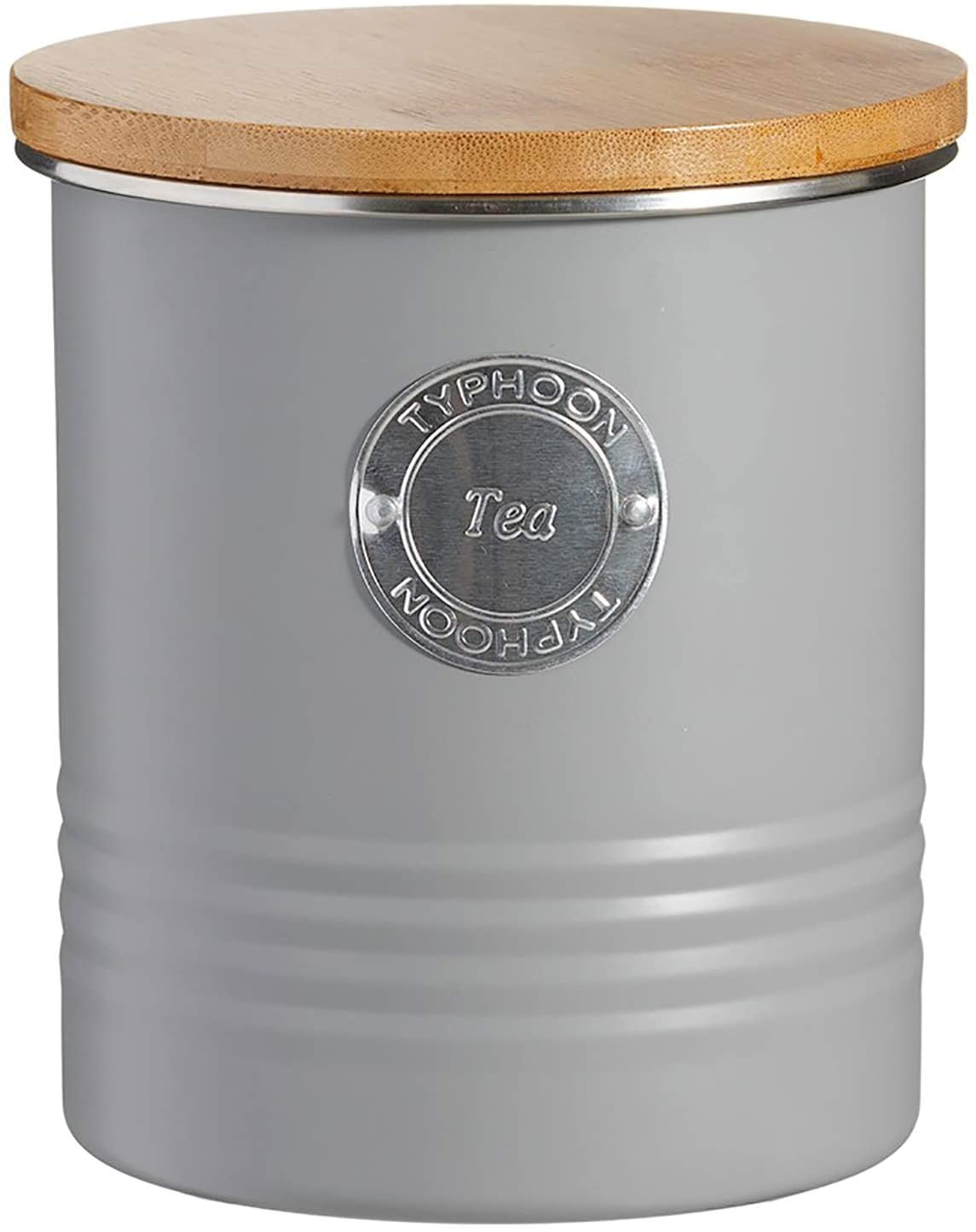 Typhoon Living Tea Storage Canister, Grey, 1400.731V