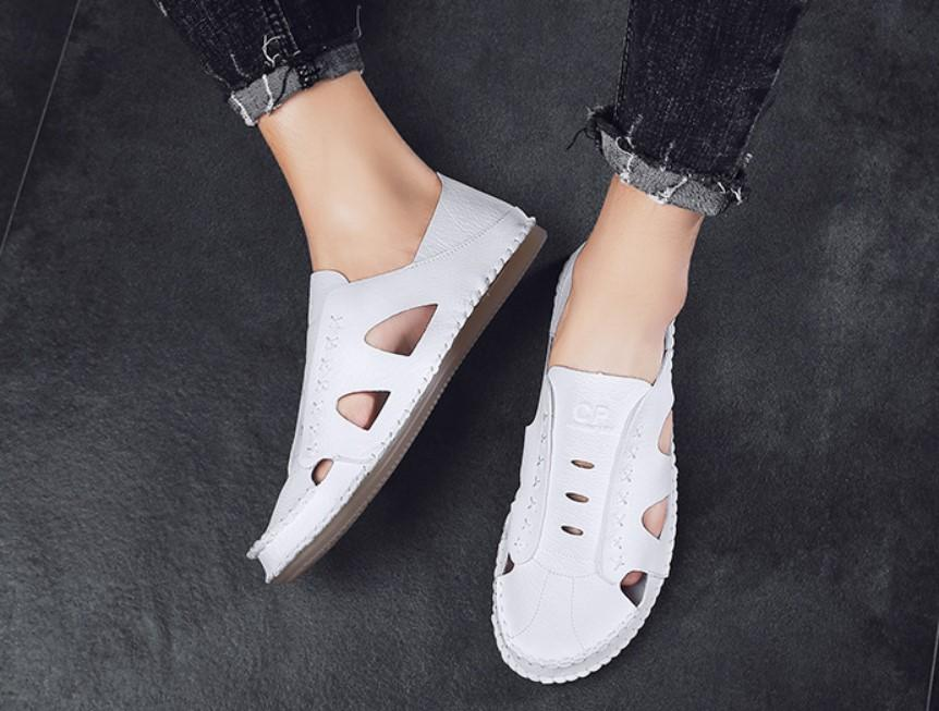 2019 new beach soft leather sandals (50% OFF)