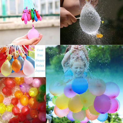 Colorful Water Balloons Magic 111 pc