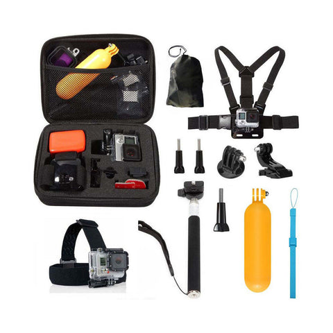 GoPro Accessories Kit Compatible With Other Action Cameras 10 in 1 Set