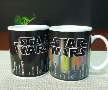 Star Wars Color-changing Lightsaber Coffee Mug 300 ML