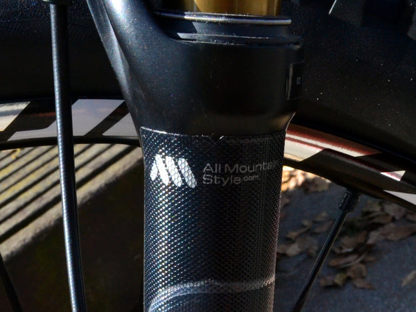 Close look at the top of the AMS Fork Guard