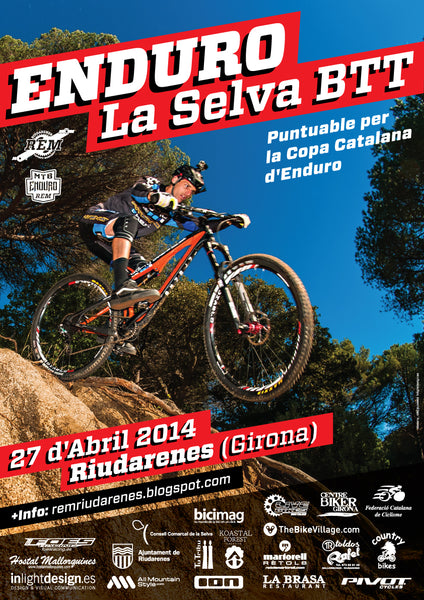 Enduro de La Selva supported by All Mountain Style