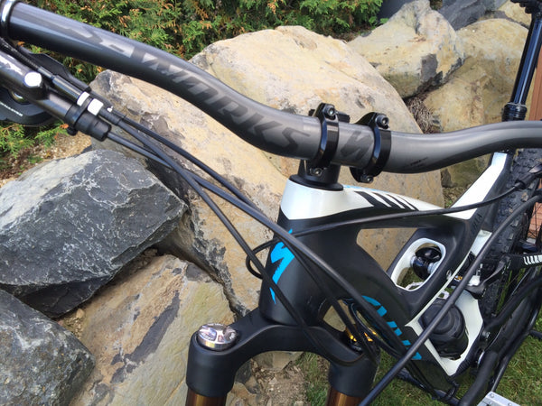 Face to face with Specialized Enduro carbon