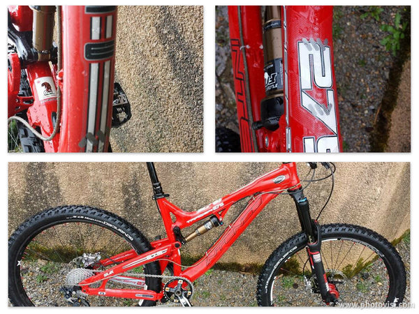 Intense Tracer 27.5 protected with AMS Frame Guard