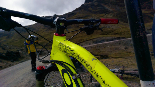 Orbea Rallon R4 on Cusco, Peru
