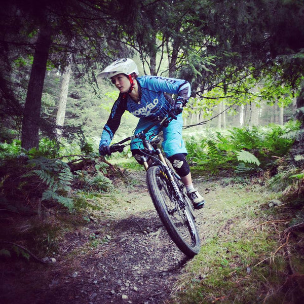 Katy Winton AMS ambassador enduro riding