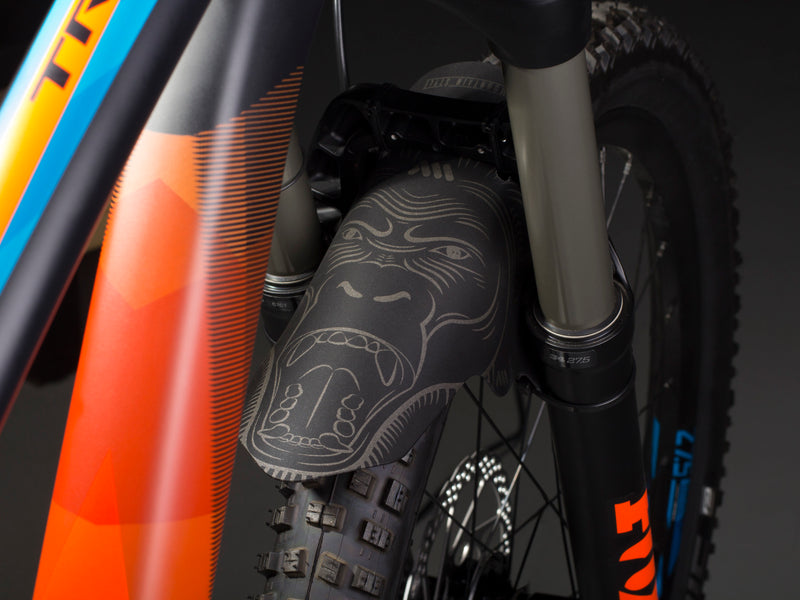AMS Mud Guard Ape on an enduro Giant moutain bike