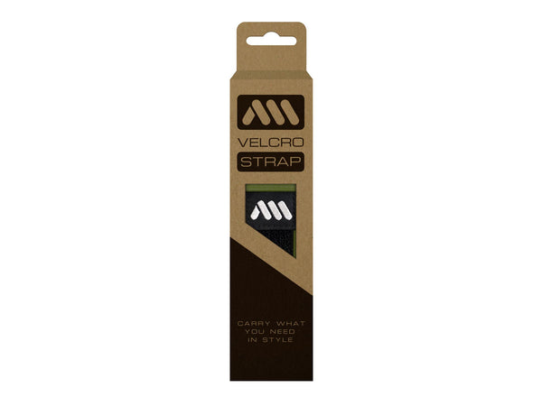 AMS velcro strap in green color in the packaging