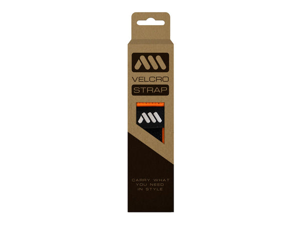 AMS Hook&Loop Strap in orange color inside packaging