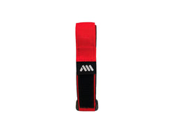 AMS Velcro Strap in red color product folded