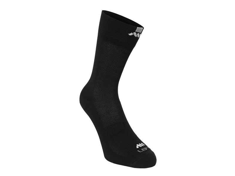 AMS black socks front view