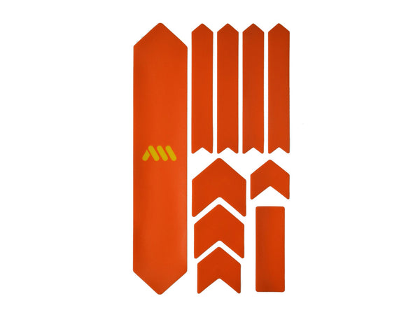 AMS Frame Guard Orange extra size outside the packaging