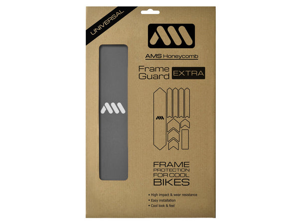 AMS Frame Guard Extra size Silver color in the packaging