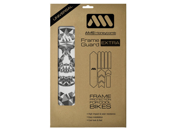 AMS Skull Frame Guard Extra size in the packaging