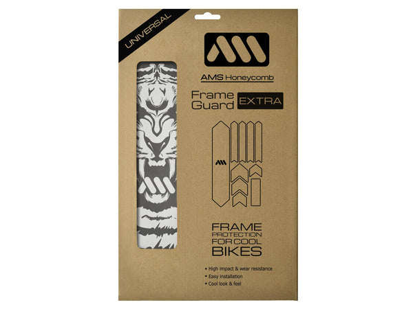 AMS Tiger Frame Guard Extra size in the packaging