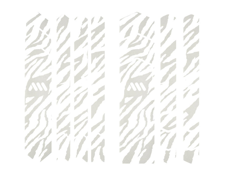 AMS Frame Guard full size Zebra animal print in white color outside the packaging