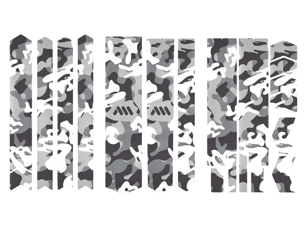 AMS Frame Guard Camo pattern design in Total size out of the packaging