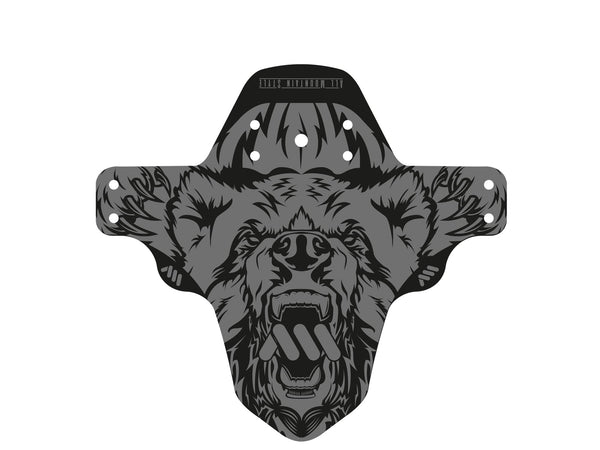 AMS Mud Guard Bear Design product flat