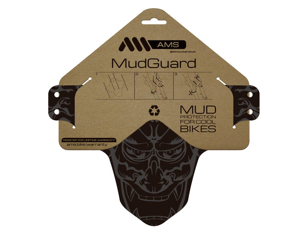AMS Mud Guard Devil design product in the packaging