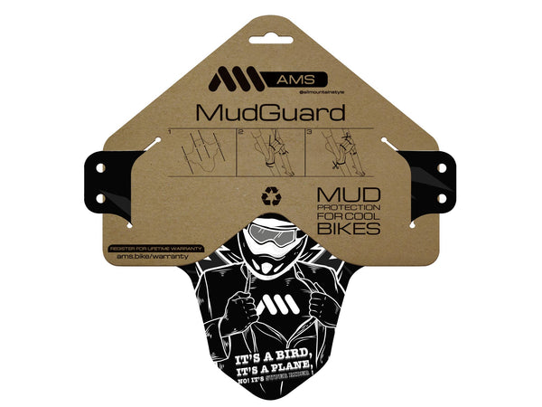 AMS Mud Guard Super Rider product and packaging