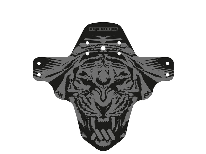 AMS Mud Guard Tiger flat outside the packaging