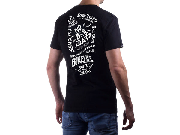 AMS Bike Life black tee back