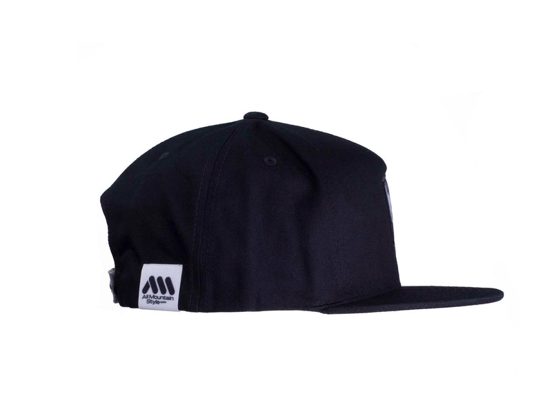 AMS Camo Cap snapback side view