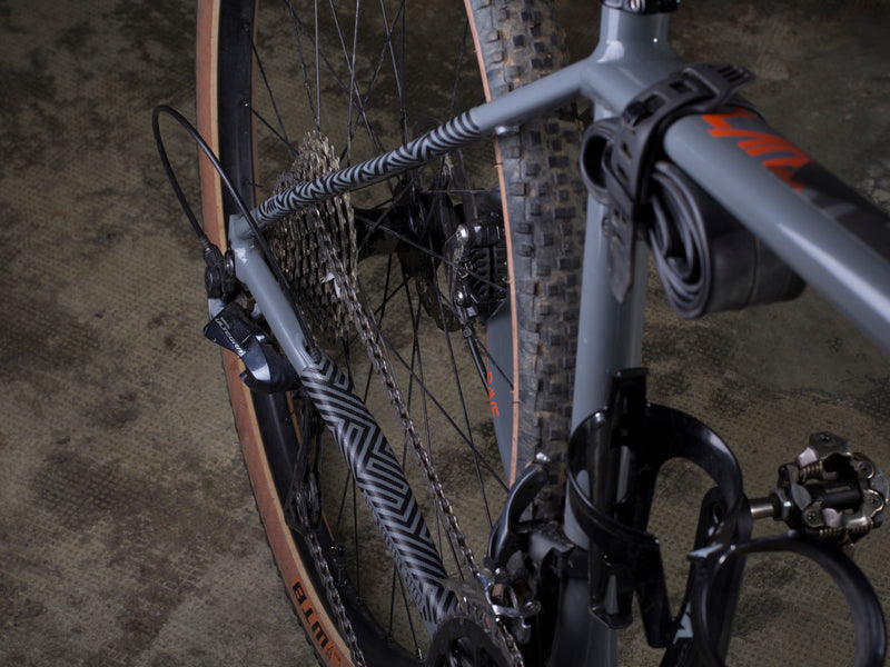 AMS Chain Guard on a gravel bike