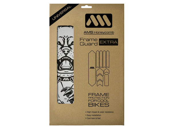 AMS Pit Bull Frame Guard Extra size in the packaging