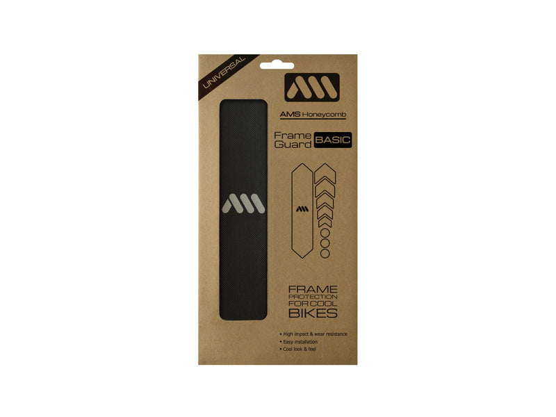 AMS All Mountain Style Frame Guard Black package basic size