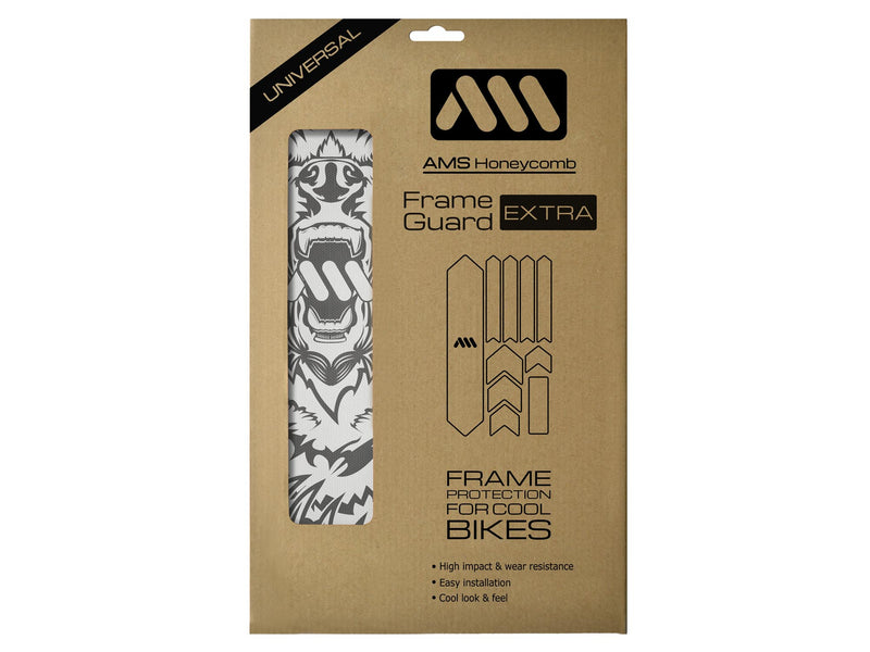 AMS Bear Frame Guard Extra size in the packaging
